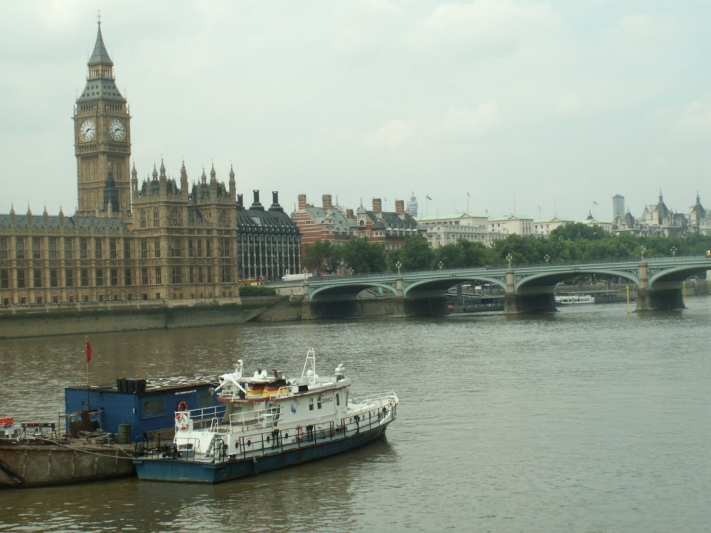 Houses of Parliament and Westminster Bridge, Greater London