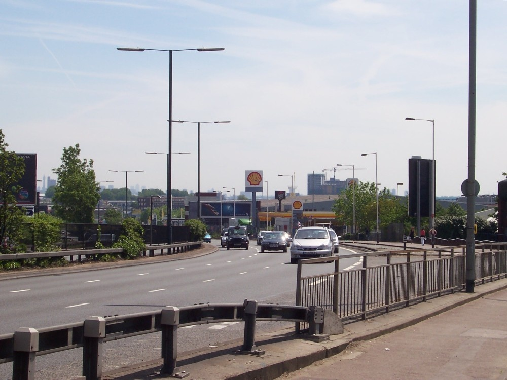 Western Avenue (A40)towards Gypsy Corner