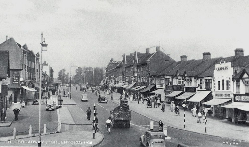 The Broadway, Greenford 1938