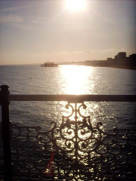 Brighton pier on a summers afternoon