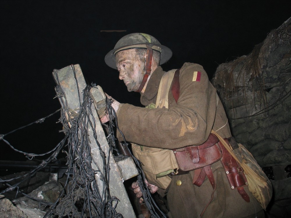 """Imperial War Museum, London. World War One, Trenches"""" by Edward ..."""