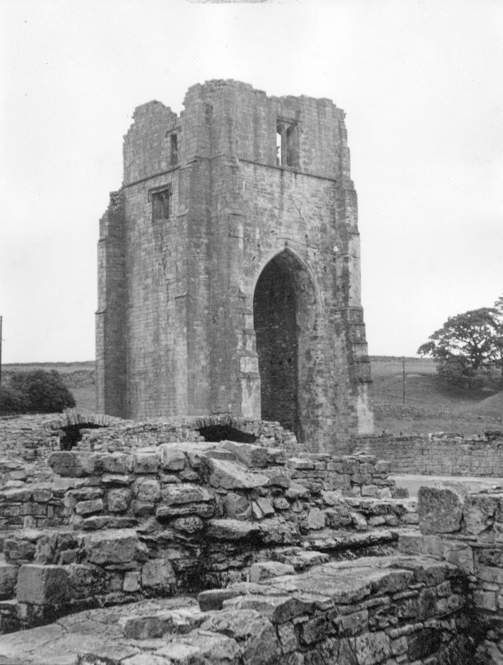 Shap Abbey, near the village of Shap in Cumbria, taken in 1963