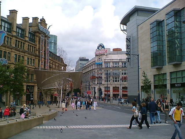 Quot A Vibrant Manchester City Center In The Printworks Area