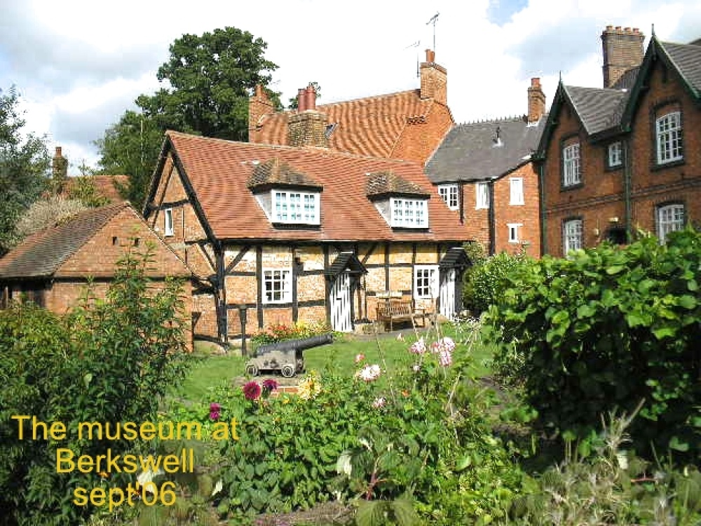 The museum at Berkswell, Warwickshire