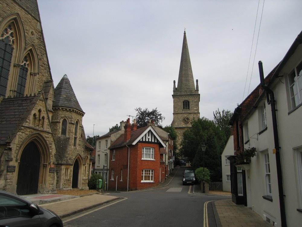 """""""Street scene in Buckingham, Buckinghamshire"""" by poe at ..."""