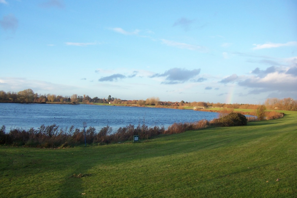 Willen Lake, Milton Keynes, Buckinghamshire.