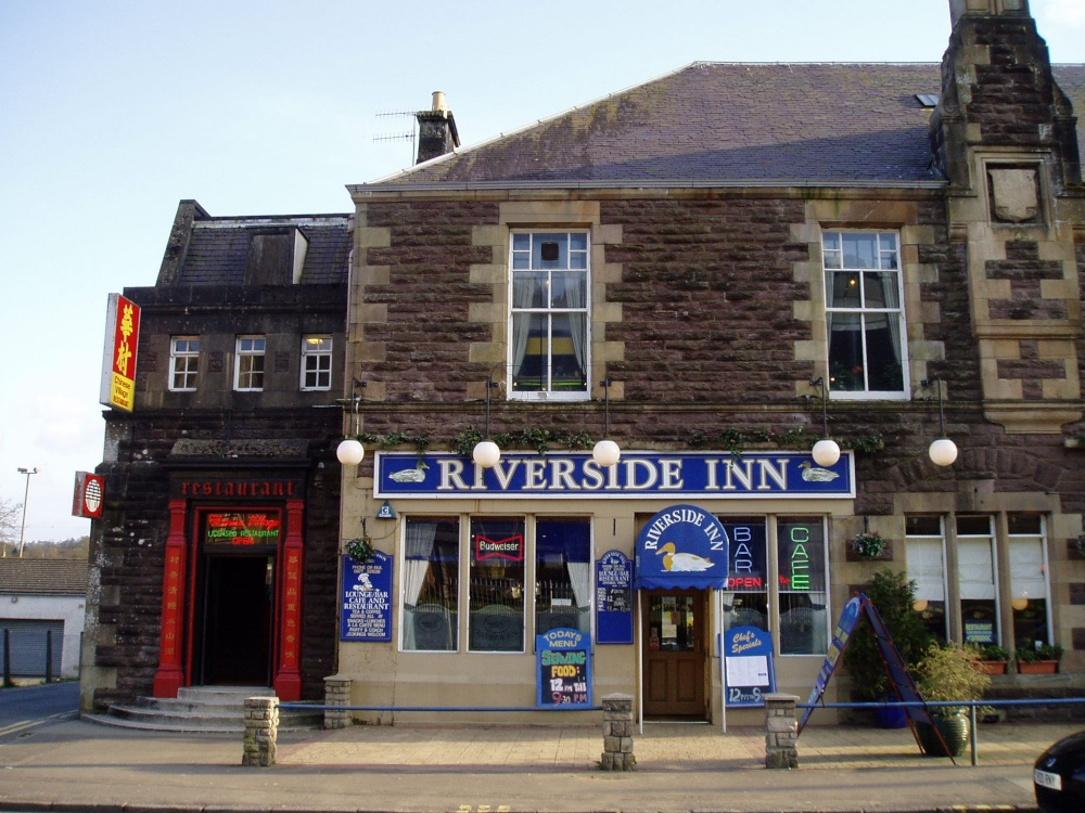 The Riverside bar, Callander, Stirlingshire.