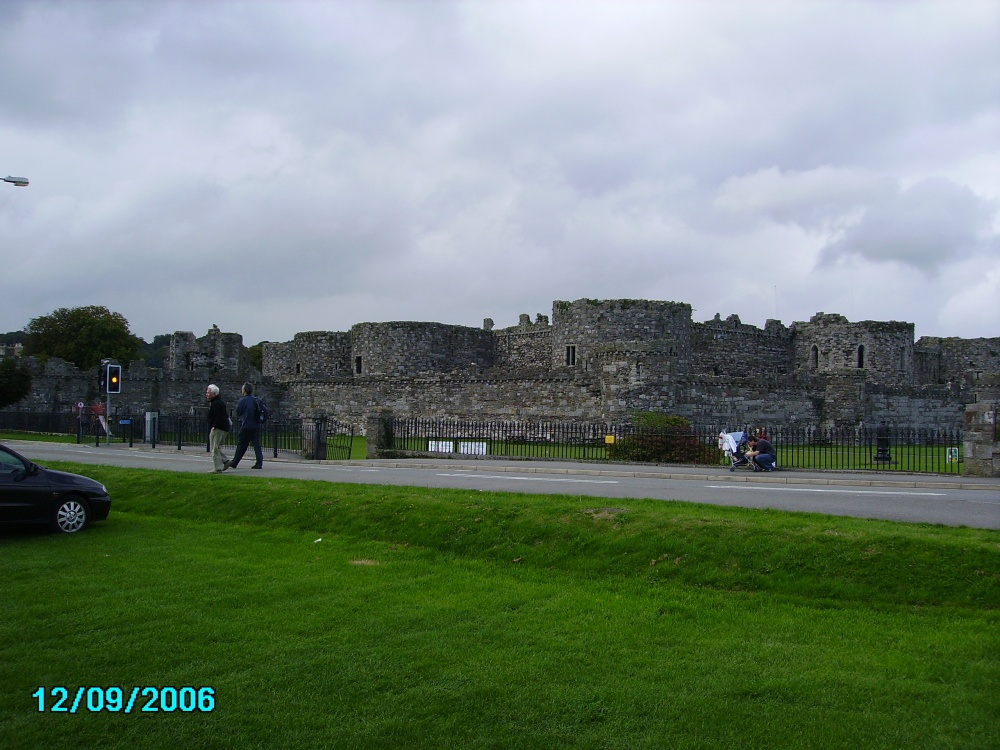 Beaumaris Castle  - on the Isle of Anglesey, Wales