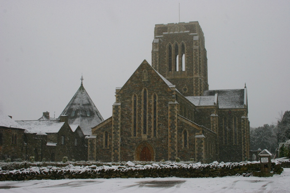 Mount St Bernards Abbey in the Charnwood forest, Coalville, Leicestershire.
