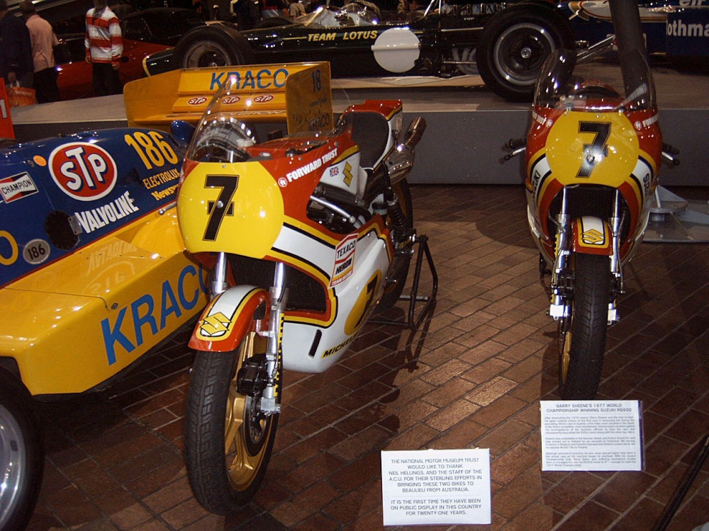 Barry Sheene 39 S Motorcycles Beaulieu National Motor Museum