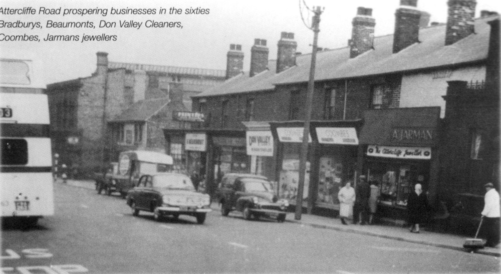 Attercliffe Road South Yorkshire In The 50s Wallpaper
