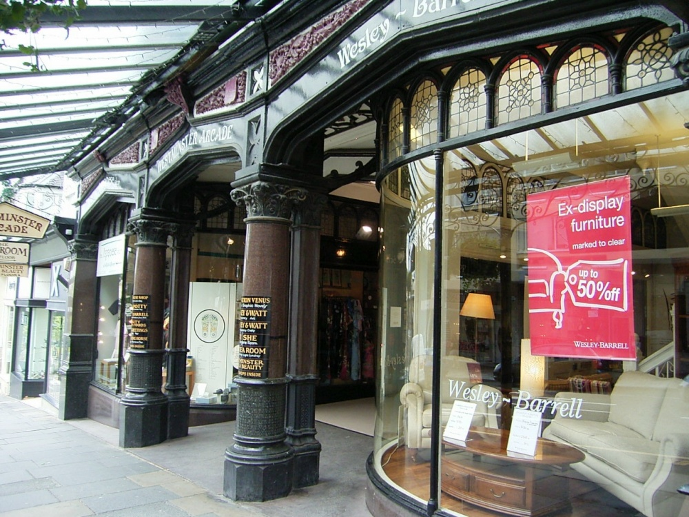 Westminster Arcade  Harrogate