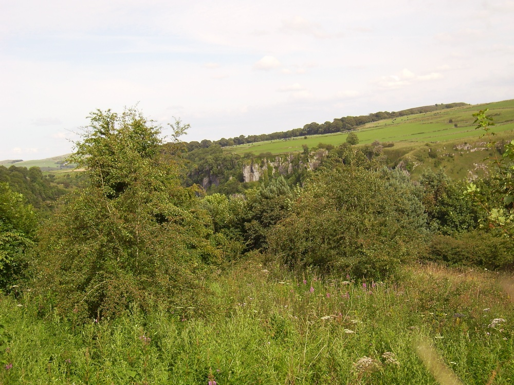 Looking across to Chee Dale from Wye Dale, the Peak District