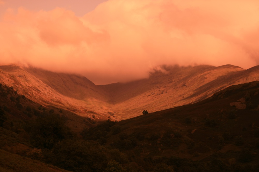 Cloudy on the Kirkstone Pass