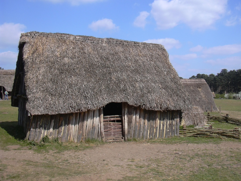 The oldest house, West Stow Country Park, West Stow, Suffolk