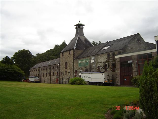 Aberfeldy Distillery, Perth & Kinross