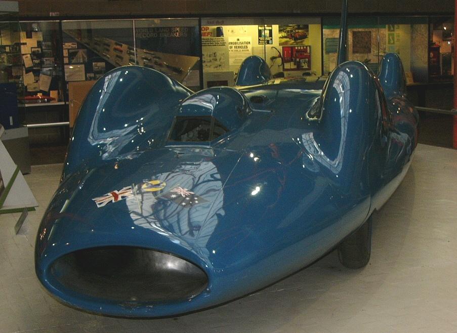 Jet Engine Bluebird Cn7 Beaulieu National Motor Museum