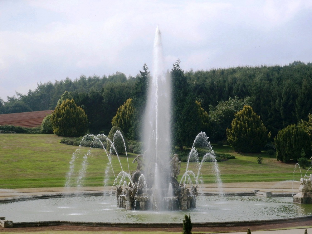 Fountain at Witley Court. Worcestershire.