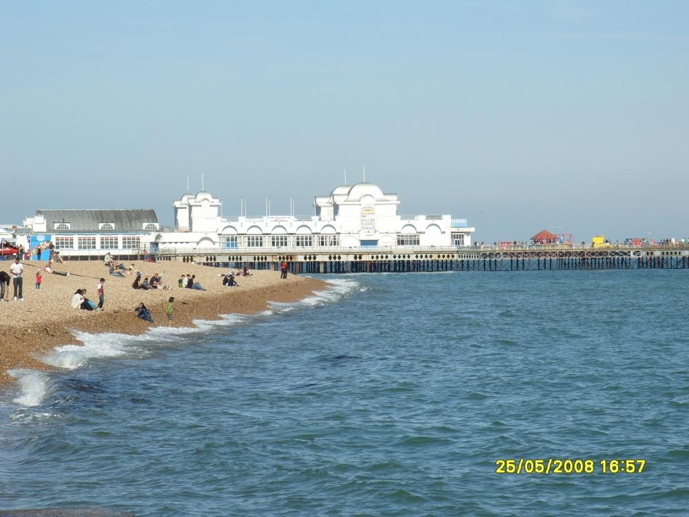 """Portsmouth Sea Beach"" By Saifuddin Muhammed Tariq At"