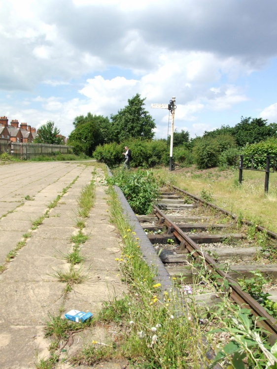 Quot Disused Railway Station Leicester Quot By Mark Corby At