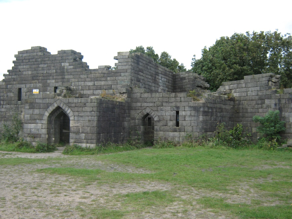 Liverpool castle in rivington in lancashire by mick for The rivington