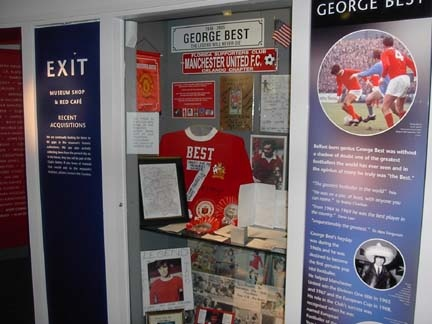 George Best Memorabilia - Manchester United Museum