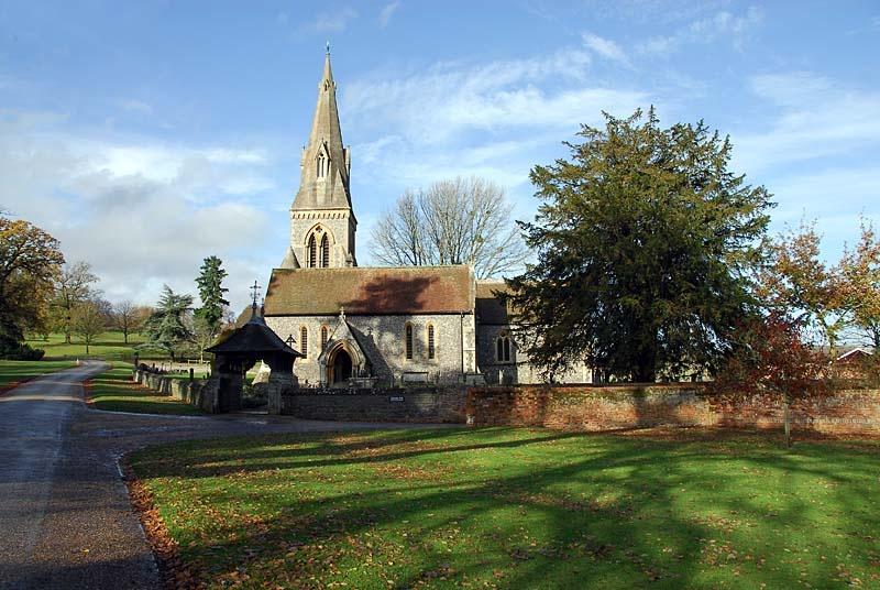 Englefield berkshire by paul hilton at St mark s church englefield