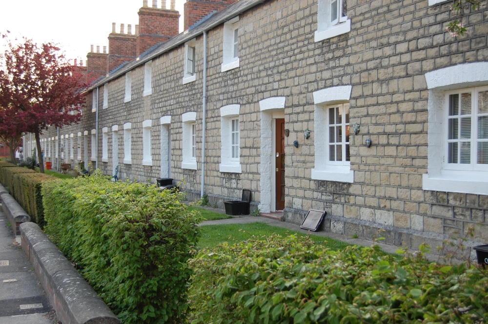 Terraced houses in Swindon