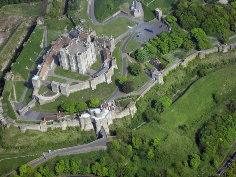 Aerial Images of England - Pictures of England Medieval Castles Floor Plan