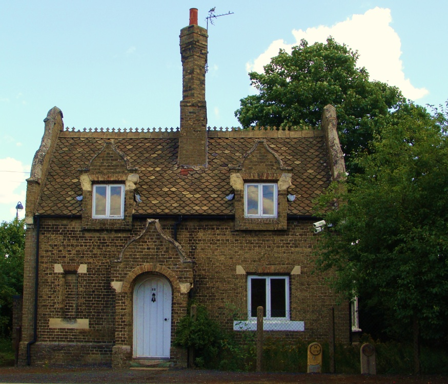 Interesting old house in Huntingdon