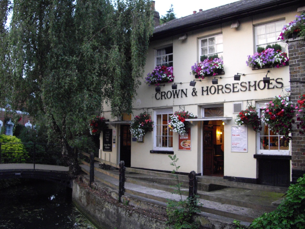 Pub on the New River Loop.