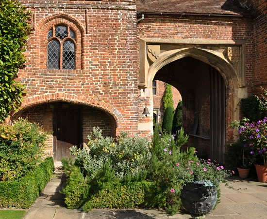 Detail of entrance to Sissinghurst Castle