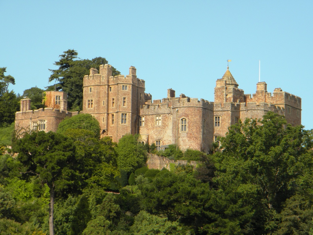 Quot Dunster Castle From Dunster Showground Aug 09 Quot By Andrew