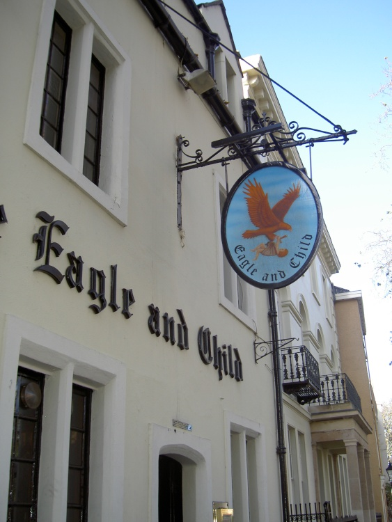 The Eagle and Child, St Giles, Oxford