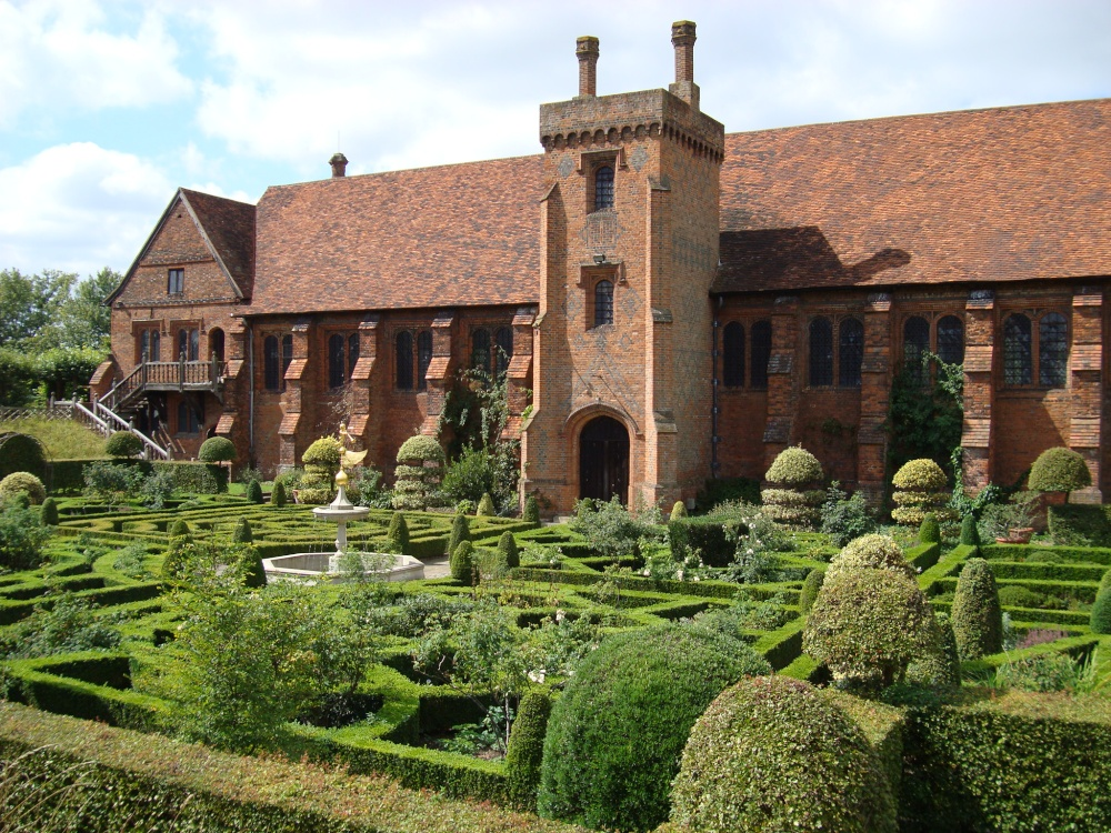 """The Old Palace and the Knot Garden"" by Victor Naumenko at ..."