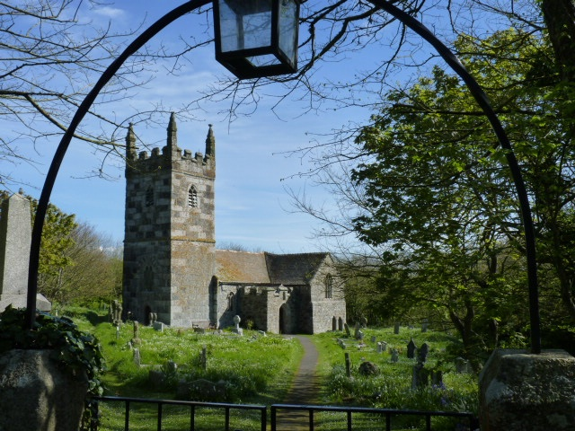 The Parish Church at Lizard, Cornwall