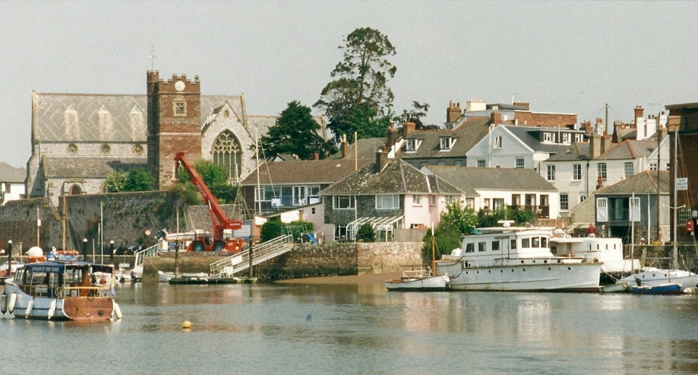 Quot Topsham Quay Near Exeter Quot By David Reynolds At