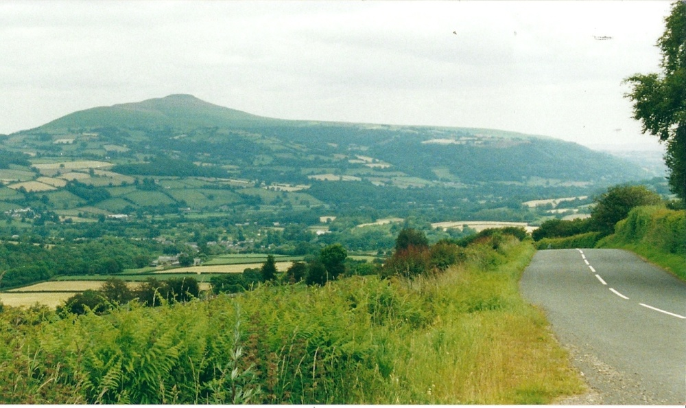 Sugar Loaf Mountain, South Wales.
