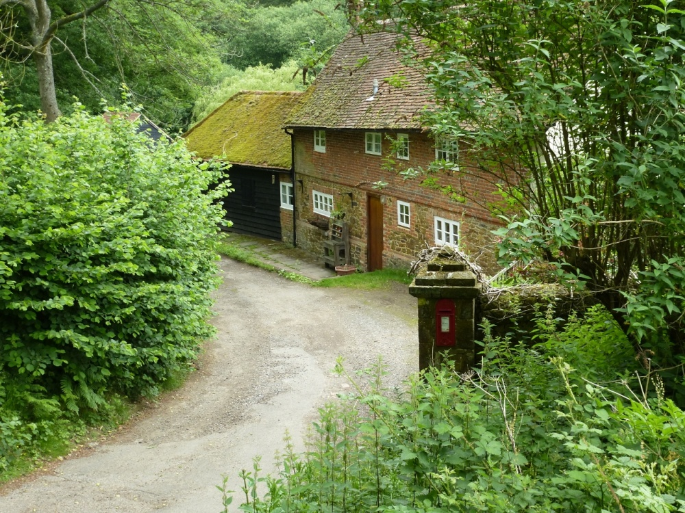The Cottage with it's own postbox
