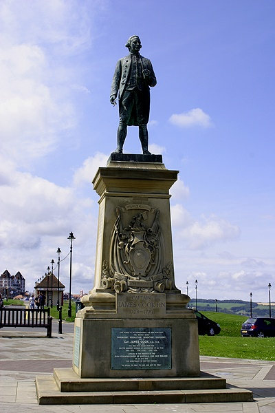 Captain Cook Memorial, Whitby, North Yorkshire
