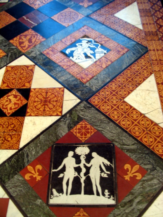 Gloucester Cathedral Floor Tiles June 2003 By Judith Hays At Picturesofengland
