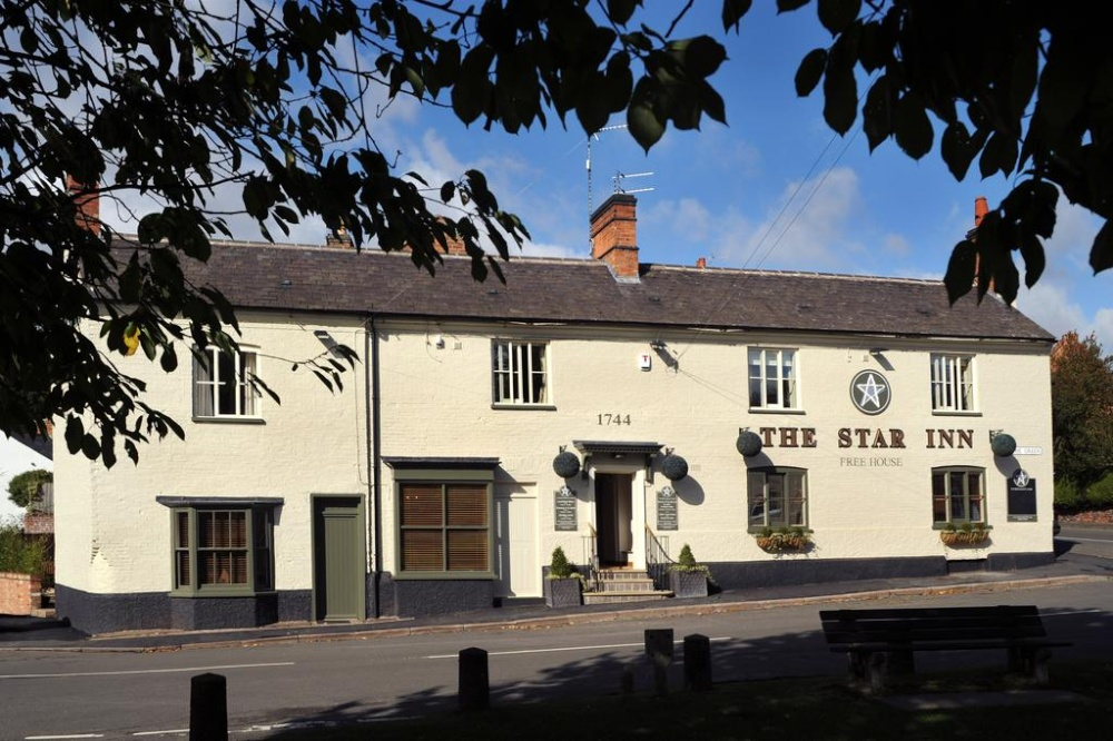 The Star Inn in Thrussington, Leicestershire, England