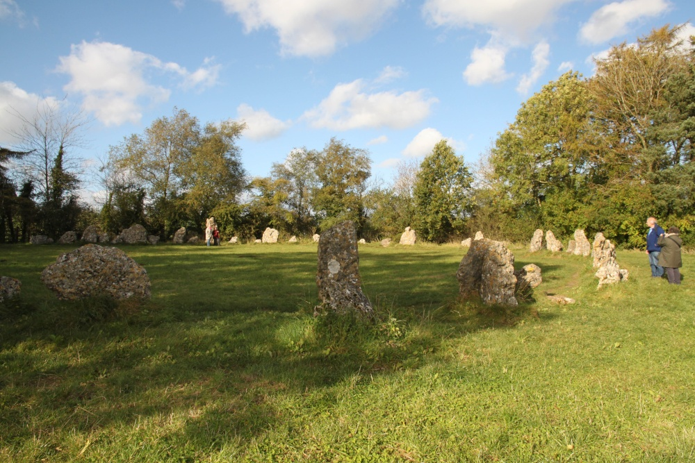 The King's Men, part of the megalithic Rollright Stones