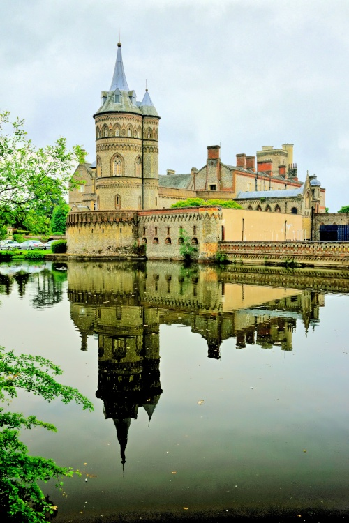 Horsley Towers View with Reflection