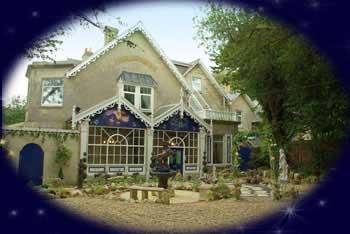 Enchanted Manor in Sandrock road, Niton, England