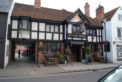 The Kings Arms in Lymington, Hampshire, England
