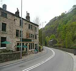 Staff Of Life Inn in Todmorden, Lancs, England