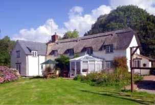 Wayside House in West Bagborough, Taunton, Somerset, England