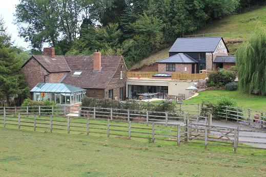 Red Rail Farm Bed & Breakfast in Hoarwithy, Herefordshire, England
